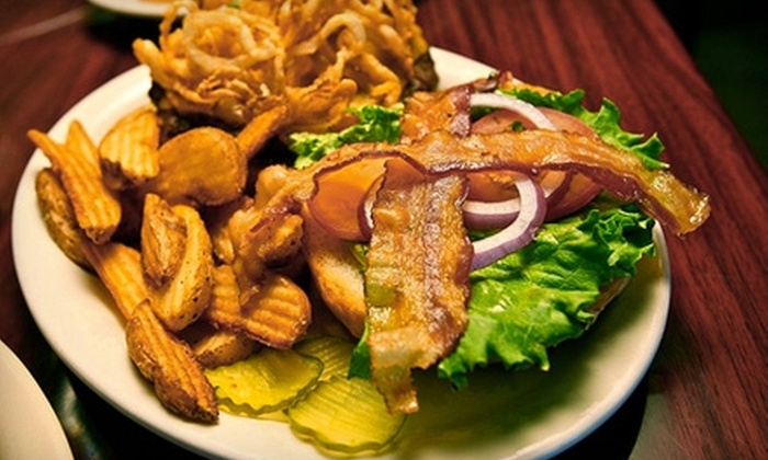 The Abbey Underground - Denton: $10 for $20 Worth of Traditional Pub Fare at The Abbey Underground in Denton