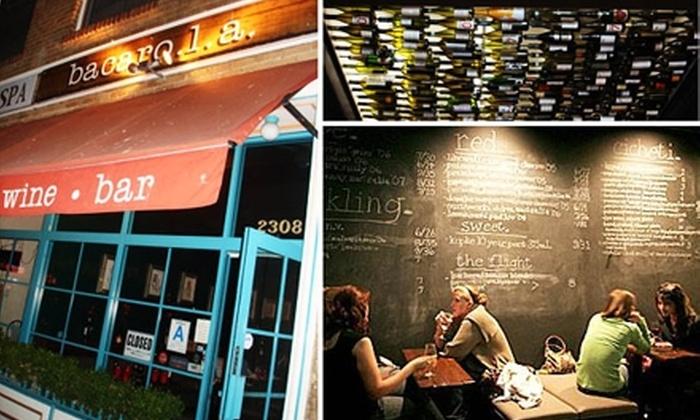 Bacaro LA Wine Bar - West Adams: $20 for $40 Worth of Italian Fare, Wine, and More at Bacaro LA Wine Bar