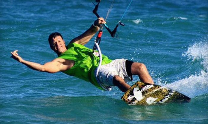 KGB Kiteboarding - Multiple Locations: Two-Hour Private Kiteboarding Lesson or Four-Hour Intensive Lesson at KGB Kiteboarding (Up to 52% Off)