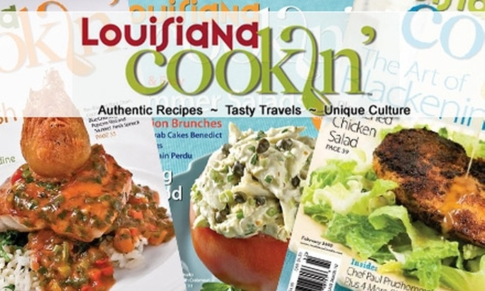 "Louisiana Cookin' - New Orleans: $20 for a One-Year Subscription to ""Louisiana Cookin'"" and Five Recipe CDs ($40 Value)"
