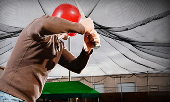 Power Swing - Leon Valley,Northwest: 13 or 27 Batting-Cage Tokens at Power Swing (Half Off)