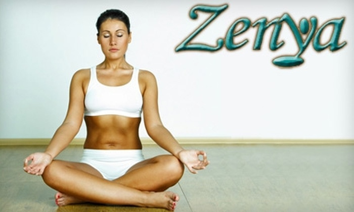 Zenya Yoga & Massage Studio - Deer Park: $39 for Ten-Class Yoga Pass at Zenya Yoga & Massage Studio in Newport News (Up to $135 Value)