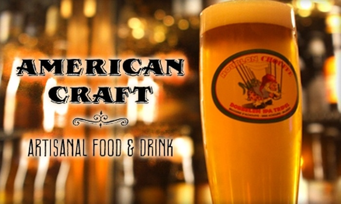 American Craft - Washington Square: $20 for $40 Worth of Artisanal Fare at American Craft