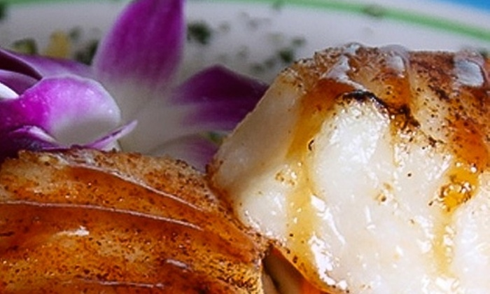 Seven Seas - Eastern Shores: $25 for $50 Worth of Fine Steak, Seafood, and Wine at Seven Seas in Hartland