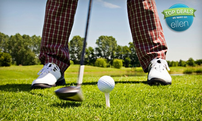 Audubon Park Golf Course - Audubon: Golf Outing with Cart for Two on a Weekday or Weekend at Audubon Park Golf Course (Up to Half Off)