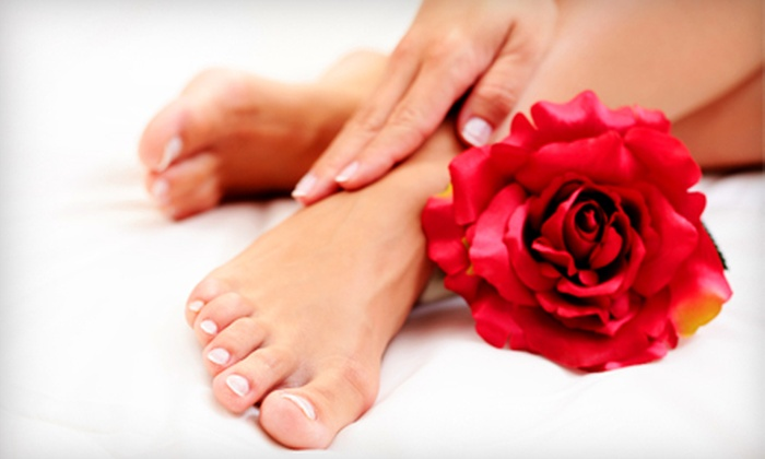 Polished Nail Boutique - Sun Terrace: $31 for a Mani-Pedi at Polished Nail Boutique ($62 Value)