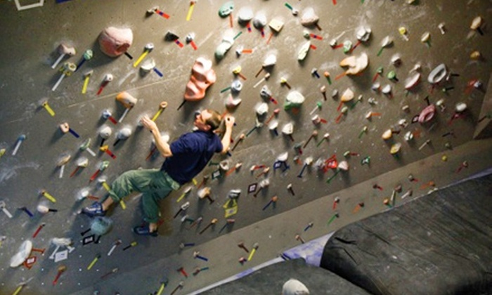 Wild Walls Indoor Climbing Gym  - Riverside: Intro-to-Climbing Class or Intro Class and a One-Month Climbing Membership at Wild Walls Indoor Climbing Gym
