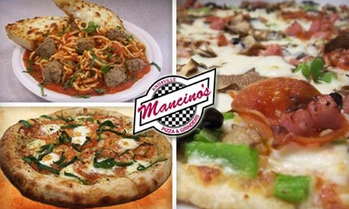 Mancino's Pizza & Grinders - 5: $10 for $20 Worth of Fresh Pizzas, Grinders, Pasta, and More at Mancino's Pizza & Grinders
