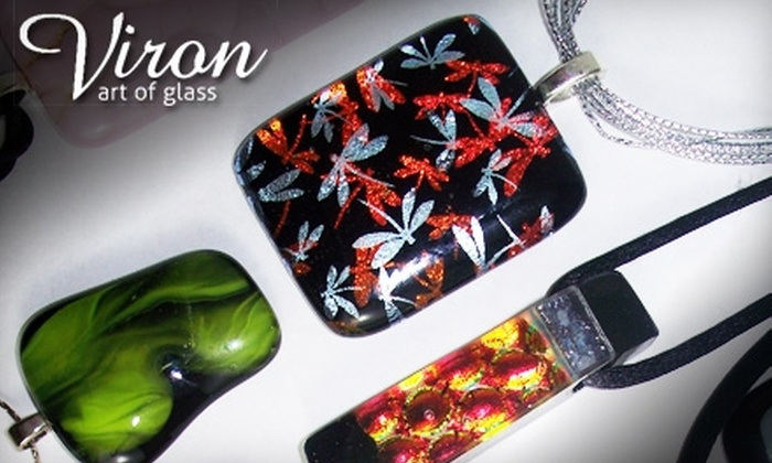 Viron Art of Glass - Winnipeg: $20 for a Glass Pendant Crafting Lesson at Viron Art of Glass ($45 Value)