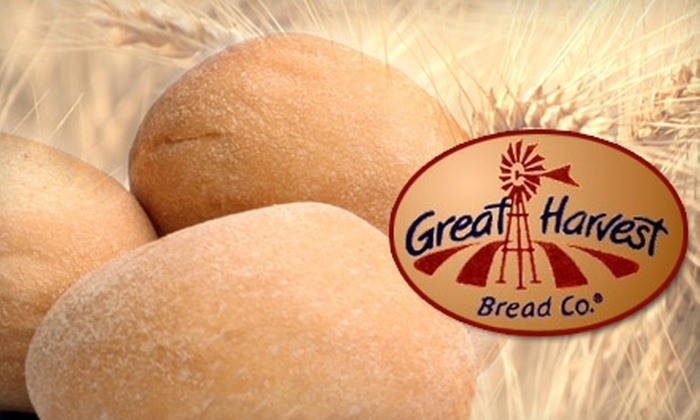 Great Harvest Bread Co.  - Cranston: $5 for $12 Worth of Freshly Baked Bread, Baked Goods, and Sandwiches at Great Harvest Bread Co. in Cranston
