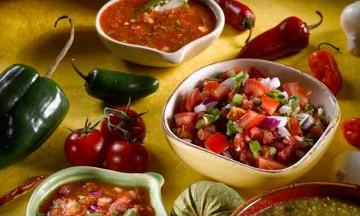 Tequila Restaurante - Multiple Locations: $45 for a Mexican Dinner for Two at Tequila Restaurante (Up to $96 Value)