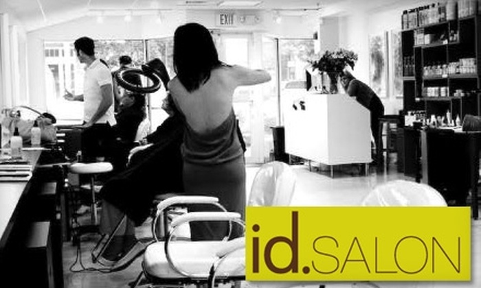 id Salon - Wellesley: $65 for $140 Worth of Cut and Color Services at id Salon in Wellesley