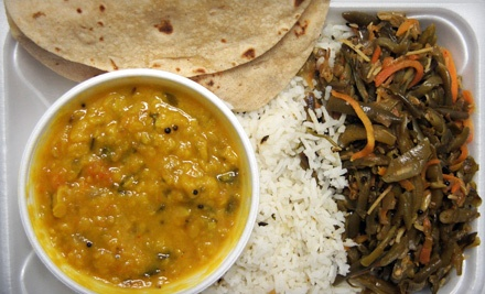 Vegetarian Indian Dinner for 4 - Swades in Powell