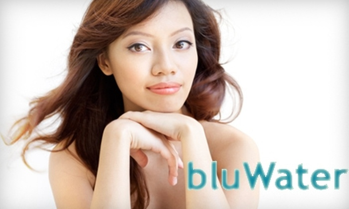 bluWater - East Avenue: $30 for a Natural Skin Peel with Microdermabrasion at bluWater ($60 Value)