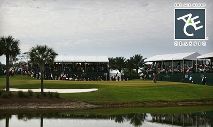 The ACE Group Classic: PGA Champions Tour Event - Miami: $30 for Two One-Day Adult Tickets, Plus Parking, to The ACE Group Classic, a PGA Champions Tour Event (Up to $65 Value)