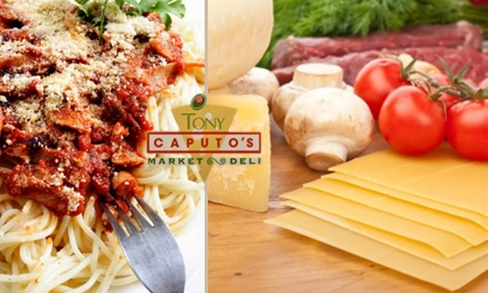 Caputo's By Night - Rio Grande: $12 for $25 Worth of Casual Italian Fare and Drinks at Caputo's By Night