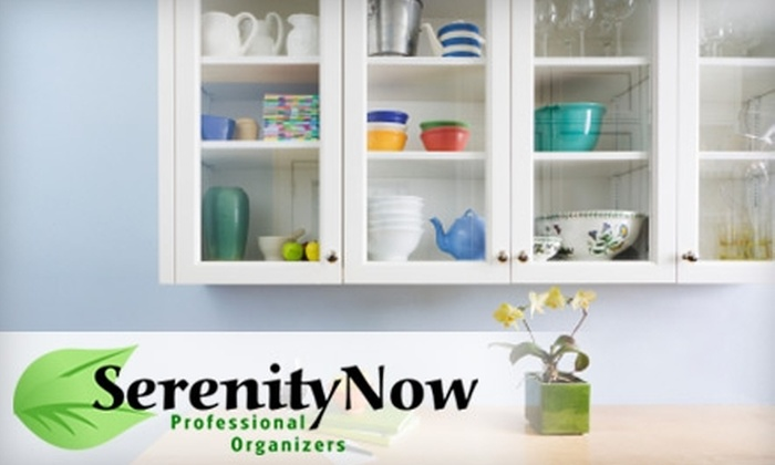 Serenity Now Professional Organizers - San Jose: $60 for Two Hours of Home-Organizing Services, Plus 25% Off Additional Services, from Serenity Now Professional Organizers ($150 Value)