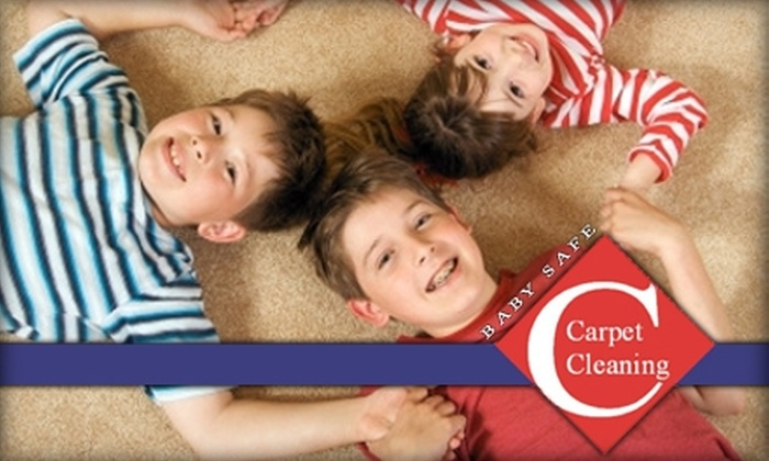 Baby Safe Carpet Cleaning - Dallas: $45 for Four Rooms of Carpet Cleaning from Baby Safe Carpet Cleaning ($100 Value)