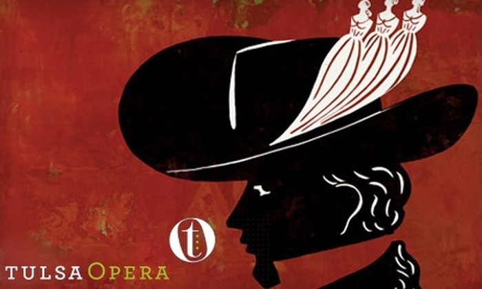 """Tulsa Opera - Downtown Tulsa: $23 for One Orchestra Ticket to the Tulsa Opera Production of """"Don Giovanni"""" (Up to $48 Value). Choose Between Two Dates."""