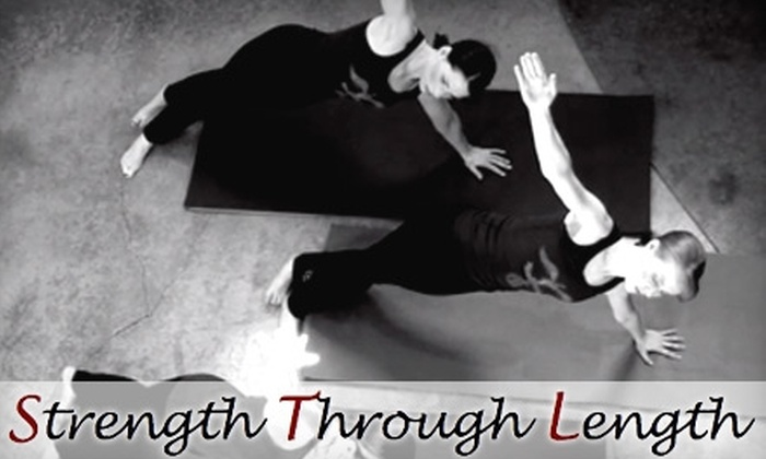Strength Through Length - East Cesar Chavez: $55 for One Month of Unlimited Pilates and Fitness Classes at Strength Through Length ($150 Value)
