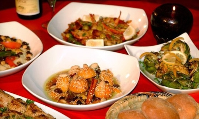 Imperial Fez - Buckhead: $45 for a Five-Course Moroccan Dinner for Two at Imperial Fez ($90 Value)