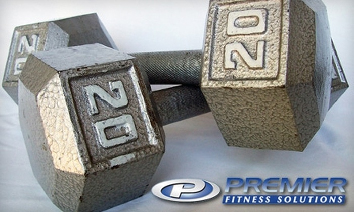 Premier Fitness Solutions - Algonquin: $35 for 30 Days of Targeted Total-Body-Training Boot Camp at Premier Fitness Solutions in Algonquin ($299 Value)