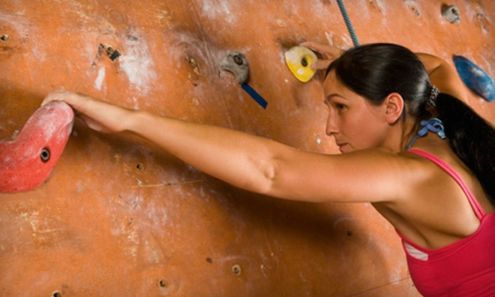 The Fit-Stop - Heber: Indoor Rock Climbing with Equipment Rentals for Two, Four, or Six at The Fit-Stop in Heber (Up to 77% Off)