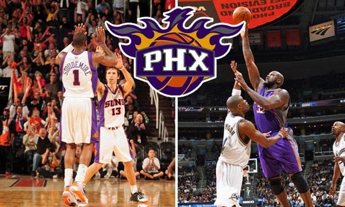 Phoenix Suns - Downtown Phoenix: $66 Phoenix Suns Tickets to 1 of 6 Games ($132 Value)
