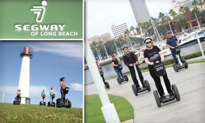 Segway of Long Beach - Downtown Long Beach: $39 for a Two-Hour Guided Segway Tour from Segway of Long Beach ($79 Value)