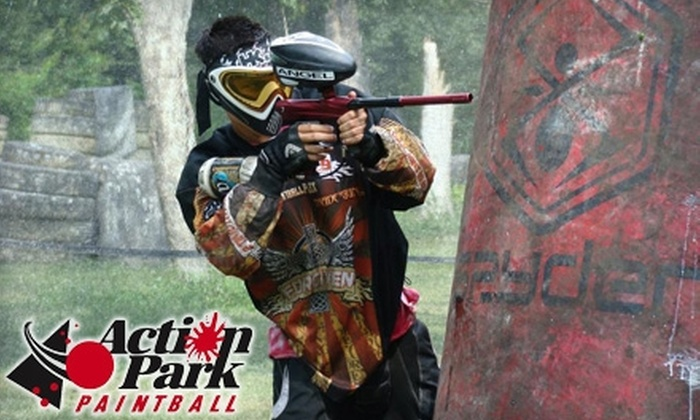 Action Park Paintball - Mishawaka: $20 for Admission, Gear Rental, and 500 Paintballs at Action Park Paintball