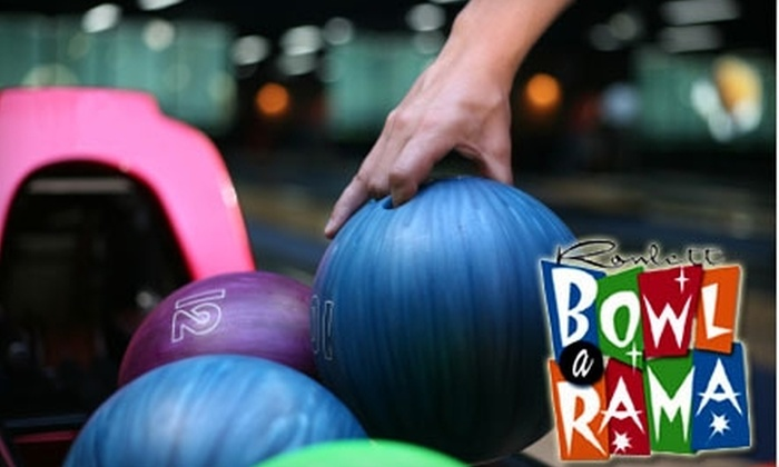 Rowlett Bowl-A-Rama - Rowlett: $29 for 1.5 Hours of Bowling, Shoe Rental, and $5 Arcade Card for Up to Six People at Rowlett Bowl-A-Rama (Up to $83.40 Value)