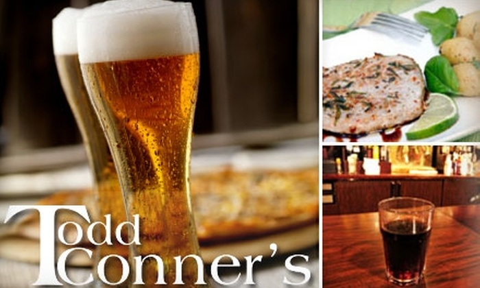 Todd Conner's - Fells Point: $10 for $20 Worth of American Cuisine and Drinks at Todd Conner's