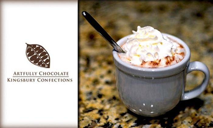 ACKC - Washington DC: $20 for 10 Hot Chocolates at ACKC Cocoa Gallery ($42.50 Value)