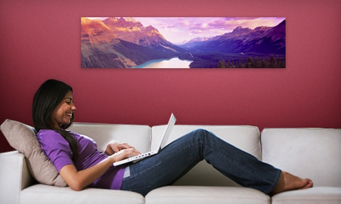 Larger Than Life Prints - Pensacola / Emerald Coast: $35 for a Panoramic Wall Mural from Larger Than Life Prints ($84 Value)