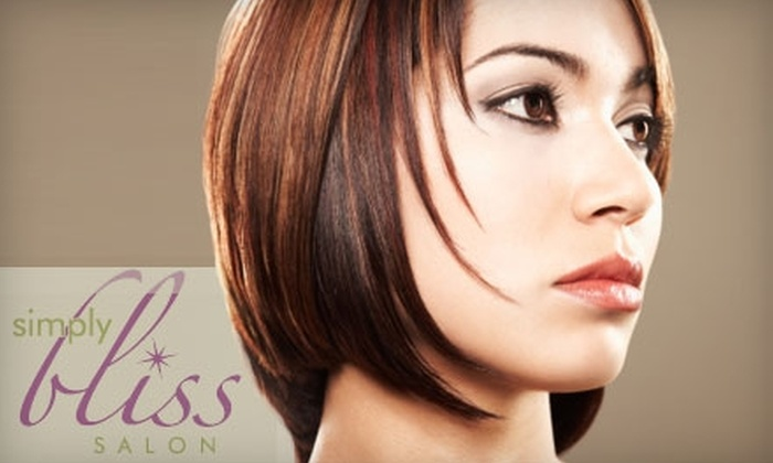 Simply Bliss Salon - Cathedral - Wesley Heights - McLean Gardens: $32 for $65 Worth of Hair and Nail Services at Simply Bliss Salon