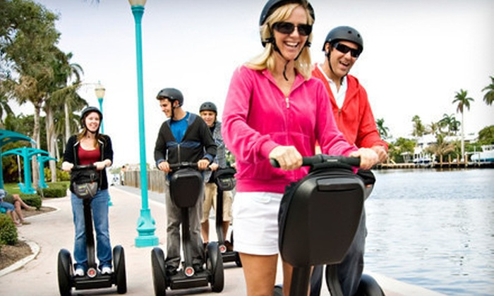 The Electric Experience - Delary Beach: Mini Coastal Segway Tour of Delray Beach for One, Two, or Four from The Electric Experience (Up to 60% Off)