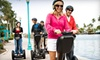 The Electric Experience-OOB - Delary Beach: Mini Coastal Segway Tour of Delray Beach for One, Two, or Four from The Electric Experience (Up to 60% Off)