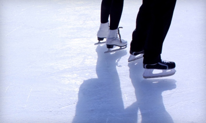 Polar Ice House - Grapevine Mills: $12 for Ice Skating for Two at Polar Ice House (Up to $24 Value)