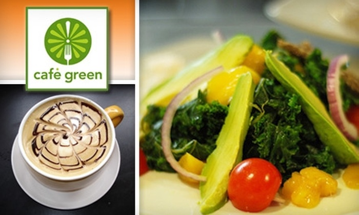 Café Green - Dupont Circle: $12 for $25 Worth of Seasonal Organic Fare at Café Green
