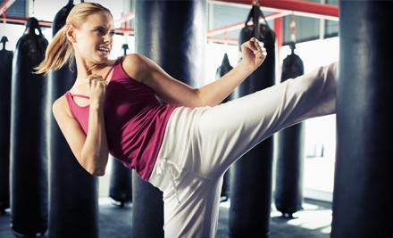 10 Kickboxing or Cage-Fighting Fitness Classes (a $150 value) - Chi's Martial Arts Training Center in Deer Park