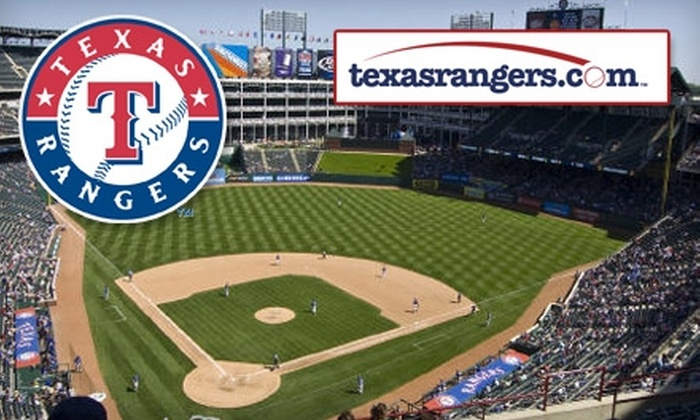 Texas Rangers Baseball Partners - Arlington: $10 for an Upper Reserved Ticket to a Texas Rangers Game ($20 Value). Choose from Two Dates.