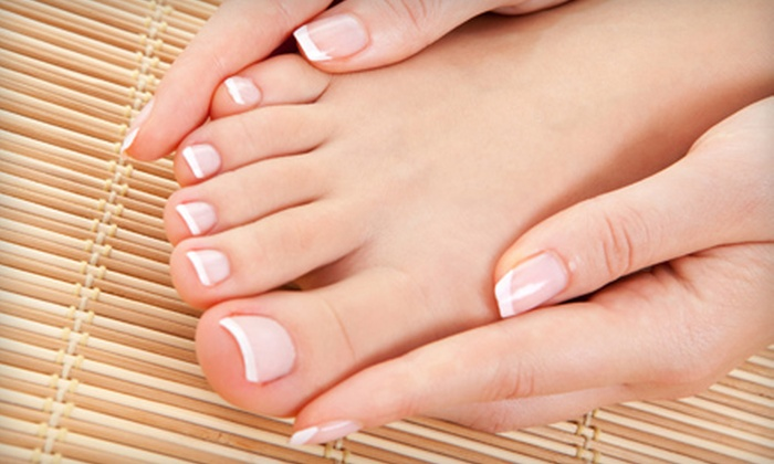 So Posh Spa - Meridian: $35 for a Classic Manicure and Spa Pedicure at So Posh Spa ($70 Value)