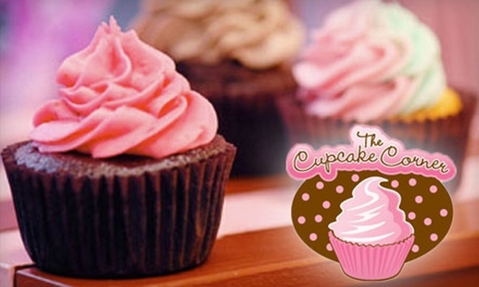 The Cupcake Corner - Garden City: $5 for Four Standard Gourmet Cupcakes at The Cupcake Corner ($10 Value)