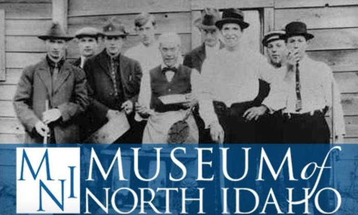 Museum of North Idaho - Downtown: $3 for Family Admission (Two Adults and Any Children Under 16) to the Museum of North Idaho in Coeur d'Alene ($7 Value)