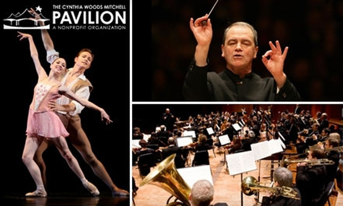 The Cynthia Woods Mitchell Pavilion - Town Center: $7 Tickets to the Houston Symphony or Houston Ballet at The Cynthia Woods Mitchell Pavilion ($15 Value). Choose from Three Performances.