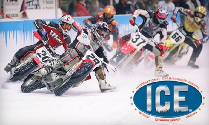 35th Annual World Championship Ice Racing Series  - Downtown Des Moines: $20 for Two Adult Tickets (Up to $44 Value) or $5 for One Children's Ticket (Up to $10 Value) to 35th Annual World Championship Ice Racing Series at Wells Fargo Arena