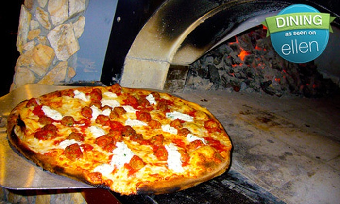 Pompeii Coal Fired Pizza - Orange Park: Prix Fixe Dinner for Two or $10 for $20 Worth of Italian Fare at Pompeii Coal Fired Pizza  in Orange Park