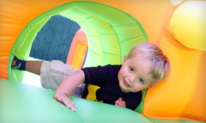 Fun Jump - Alvin: 5 or 10 Unlimited Jump Sessions at Fun Jump in Alvin (Up to 64% Off)