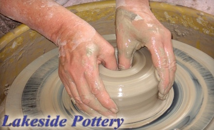 Lakeside Pottery: 1 Custom Handprint or Footprint - Lakeside Pottery in Stamford