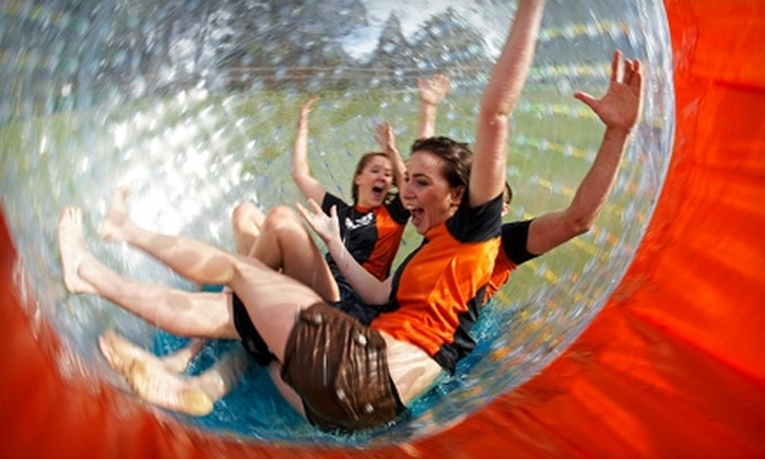 Zorb Smoky Mountains - Pigeon Forge: $24 for a Globe Ride at Zorb Smoky Mountains (Up to $48.95 Value)